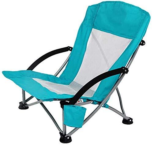 YYZZ Mise à Niveau Portable Chaise de Camping en Plein air Pliant Sac à Dos Dossier Haut Camping Loisirs Chaise Appui-tête Taille Sac adapté pour Les Sports