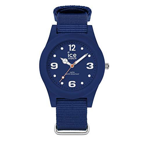 Ice-Watch - ICE slim nature Ocean blue - Men's (Unisex) wristwatch with nylon strap - 016444 (Medium)