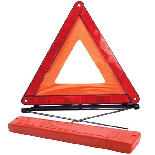 Guilty Gadgets - Grande avvertimento per auto, triangolo, riflettente, emergenza stradale, pericolo di sicurezza