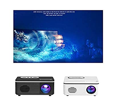 LEANO US Plug Projector Sync Display Beamer Home Media Video Player Overhead Projectors by AM00092