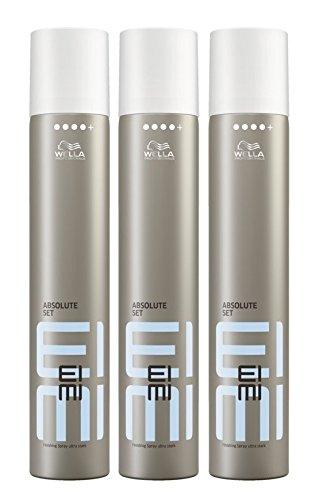 Wella EIMI Absolute Set Haarlack ultra stark 3 x 500 ml Styling Fixing Hairspray Finishing Spray Professionals