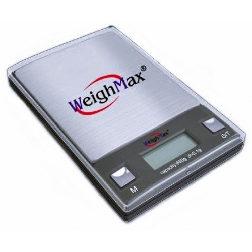 Price comparison product image WEIGHMAX DIGITAL POCKET SCALE W-HD SERIES 0.1g ACCURACY 650g CAPACITY