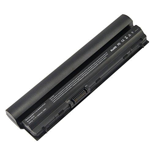 ARyee Batería para portátil Compatible con DELL Latitude E6120 E6220 E6230 E6320 E6320XFR E6330 E6430S 09K6P 0F7W7V 11HYV 7M0N5 823F9 9GXD5 9P0W6 (5200mAh 11.1V)