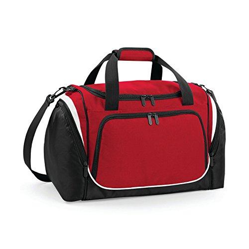 Quadra qs277PRO-TEAM Locker Bolsa Color Rojo/Negro/Blanco