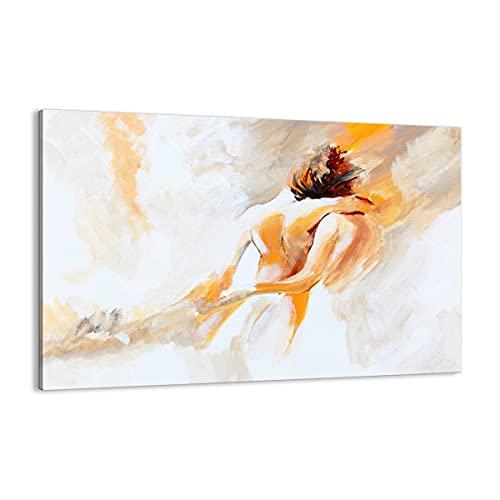Cuadro sobre lienzo - Impresión de Imagen - Carácter la amistad el amor el matrimonio - 120x80cm - Imagen Impresión - Cuadros Decoracion - Impresión en lienzo - Cuadros Modernos - AA120x80-3168