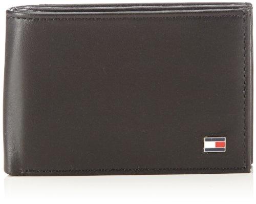 Tommy Hilfiger BM56923215, Portefeuille Homme - Noir - Noir (990), 11x7x2 cm (B x H x T)