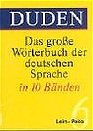 Duden. Das große Wörterbuch der deutschen Sprache (3. A.) Mehr als 200 000 Stichwörter. 10 Bde.