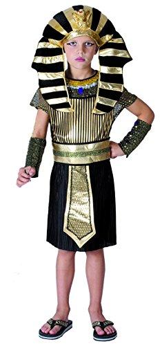 Rire Et Confetti - Fiades022 - Déguisement pour Enfant - Costume Petit Pharaon Garçon - Taille S