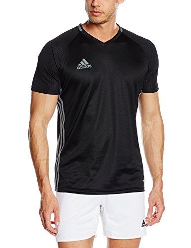 adidas Herren Trainingstrikot Condivo16, Black/Dark Grey/Vista Grey, S, S93530