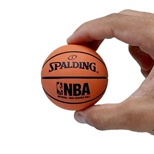 Spalding 51161 Spaldeen High-Bounce Ball - NBA Basketball Design, Orange