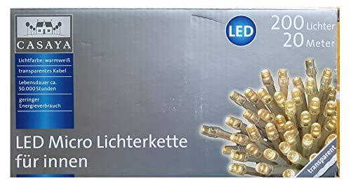 LED micro Lichterkette für innen