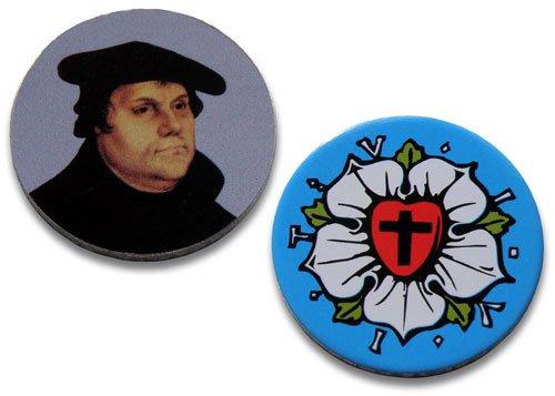 Uljö °° Einkaufswagenchips Martin Luther, 10er-Packung
