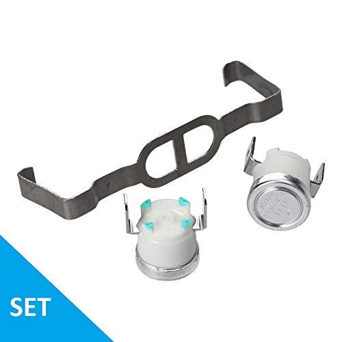 LUTH Premium Profi Parts Thermostat Kit für Bauknecht Whirlpool 481225928681 TRK5840 Indesit C00313080 für Trockner Wäschetrockner