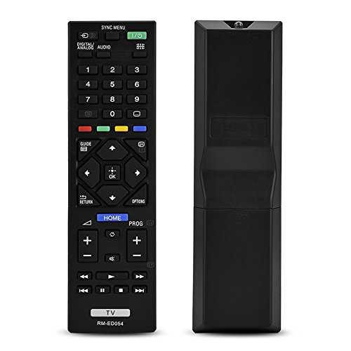 Zerone Mando a Distancia Universal de Repuesto para Sony Smart TV RM-ED054, 4 K TV Mando a Distancia para Sony RM-ED054 LCD LED TV