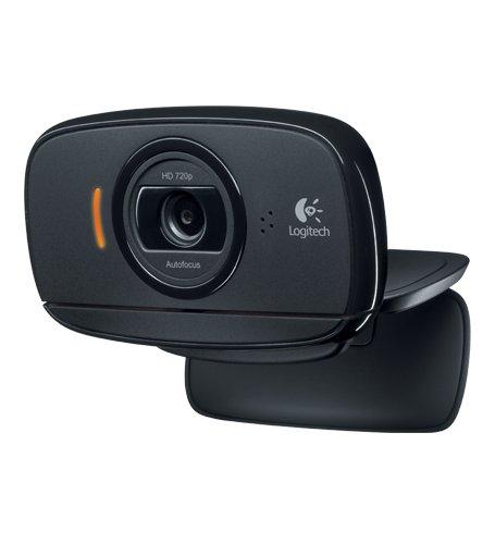 Logitech B525 HD 720P USB-Webkamera für PC und Skype