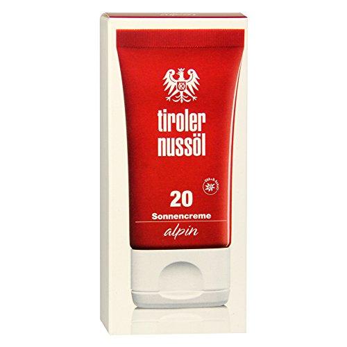 Tiroler Nussöl Sonnencreme alpin LSF 20, 1er Pack (1 x 40 ml)