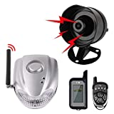 Autopmall Car Alarm Protection System Auto Security 2 Way Remote System Wireless Alarm Shock Alarm No Installation