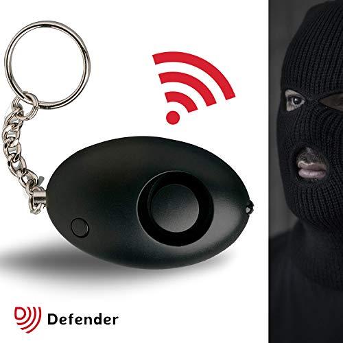 Defender - Alarma de ataque personal Cooper de 130 dBs