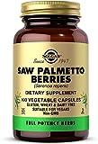 Solgar Baya de Sabal, Ayuda a la Vejiga y Próstata, Contiene ácidos Grasos, Esteroles Vegetales y Flavonoides, 100 Cápsulas Vegetales
