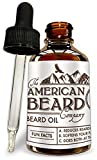 Beard Softener for Men | Beard Oil Growth Conditioner For Men - Best Mens Grooming Care and Softener - Made In The USA Unscented Comes with Dropper