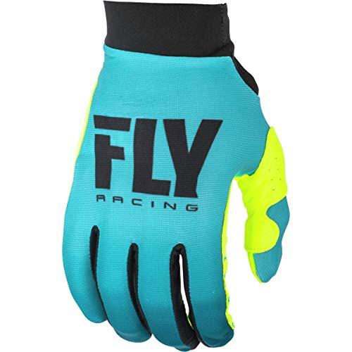 Fly Racing 2019 Women's Pro Lite Gloves (Medium) (Blue/HI-VIZ)