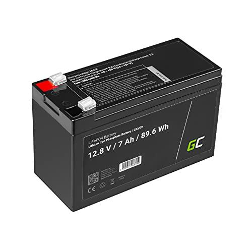 Green Cell® LiFePO4 Akku (7Ah 12.8V 89.6Wh) Lithium-Eisen-Phosphat Batterie 12V Photovoltaikanlage BMS für Reisemobil Wohnmobil Caravan Boat Boot Golf Trolley Solar Solarbatterie Rasenmäher