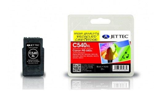 Black für Canon Pixma MG 3550 von Jettec, wiederaufbereitete Tintenpatrone, 21 ml, für MG3550