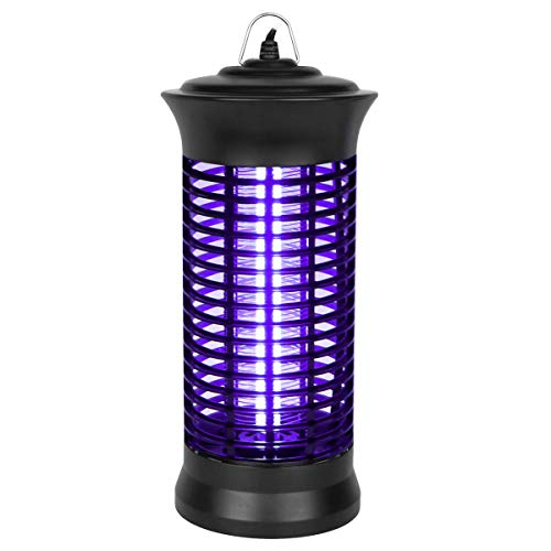 GODV-MX Insect Killer, 2019 New Upgrade Bug Zapper, Electric Mosquito Killer lamp with Hanging and Switch, Best Indoor Mosquitoes/Moths/Insect Zapper for Bedroom,Kitchen and Office etc.