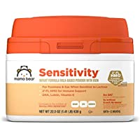 Mama Bear Sensitivity Baby Formula Powder With Iron, Reduced Lactose, Non-GMO, 2' FL HMO for Immune Support 22.5 Ounce