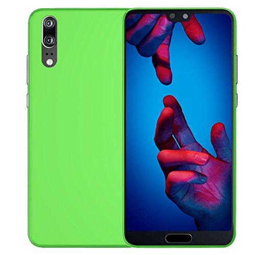 TBOC® Grün Gel TPU Hülle für Huawei P20 Pro (6.1 Zoll) Ultradünn Flexibel Silikonhülle