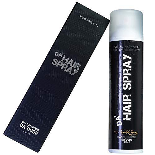 Da Dude Da Hair Spray Lacca Forte per Capelli Professionale - Lacca Uomo Per Dei Capelli Integri Tutto il Giorno