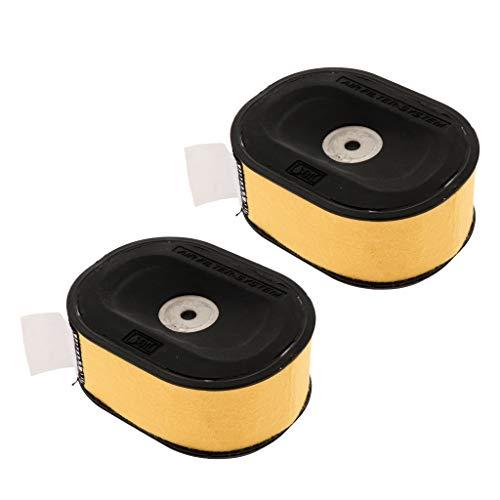 FLAMEER 2 Pcs Filtro de Aire con Prefiltro Piezas de Recambio para Stihl 044, 046, 066, Ms440, Ms441, Ms460, Ms660