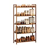 wanhaishop Zapatero Rack de Zapatos Simple de 5 Capas Rack de Almacenamiento de baño Sala de Estar Corredor Corredor de Almacenamiento de Gran Capacidad Rack de Zapatos Ideal Zapateros Independientes