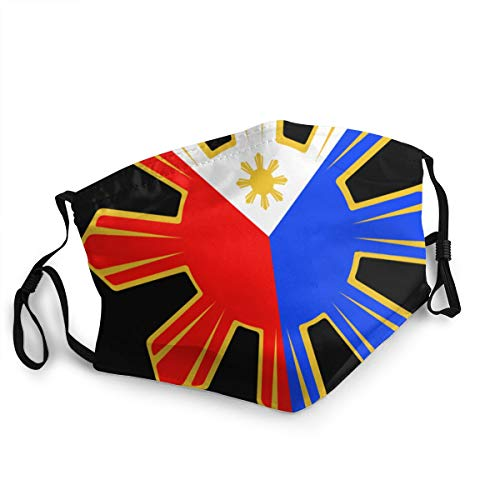 Philippines Pinoy Filipino Flag Stars And Sun Printed Facial Decorations For Women And Men