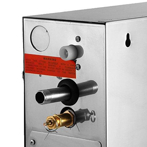 BuoQua 6KW Dampfgenerator Dusche Dampferzeuger Sauna Für Dampfbad Dampfdusche Und Dampfbäder Private Und Gewerbliche Dampfgerät - 8