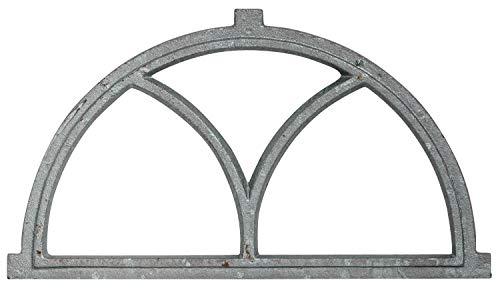 aubaho Fenster grau Stallfenster Eisenfenster Scheunenfenster Eisen 55cm Antik-Stil (f)