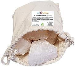 SudoreWell Pierres de sel Morceaux de sel pour sauna 1,0 kg