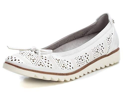 XTI Zapato Bailarina XTI049792 para Mujer Blanco 39