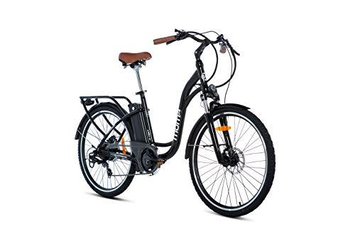 Moma Bikes E- Bike 26.2 Bicicleta Electrica de Paseo, 7 velocidades, A