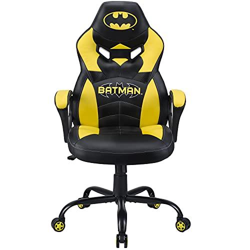 Subsonic - Batman - Silla Gaming Junior - Asiento Gamer para Escritorio - Sillon De Oficina - Licencia Oficial DC Comics (Windows 8)