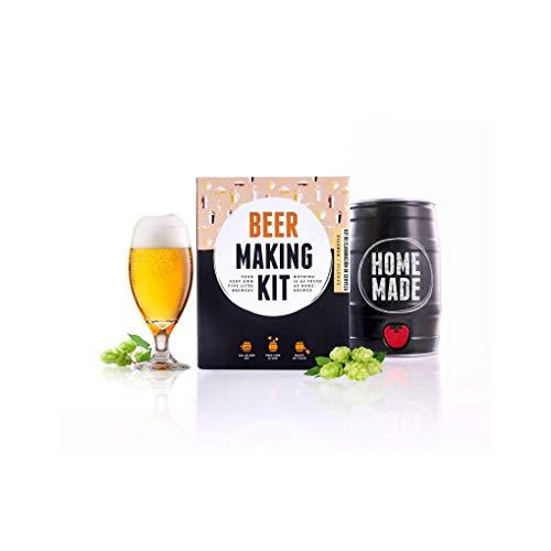 Kit completo para elaborar 5 L Cerveza tipo Pilsner, Brewbarrel