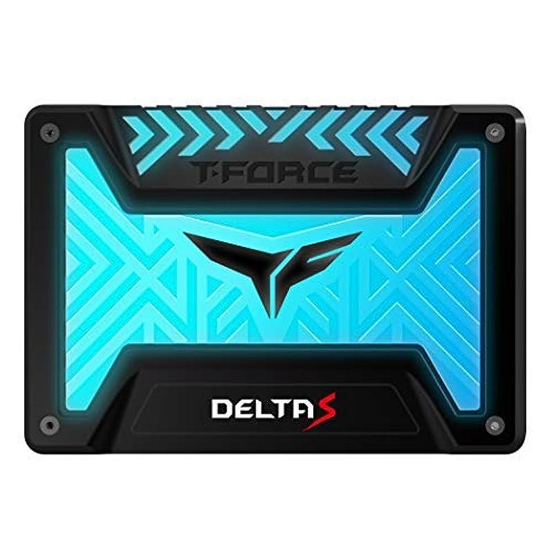 仕事に行くごちそう権利を与えるTEAMGROUP T-Force Delta S RGB 500GB 2.5