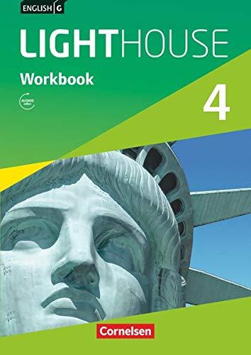 English G Lighthouse - Allgemeine Ausgabe / Band 4: 8. Schuljahr - Workbook mit Audios online