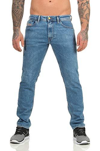 Diesel Thommer WASH 087AR - Jeans elasticizzati da uomo Slim Skinny, a scelta Blu 087ar. 38W x 32L