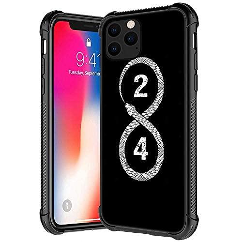 Funda para iPhone 11, diseño de jugador de baloncesto 06, de vidrio templado para iPhone 11, fundas para niños y hombres, de TPU suave, antiarañazos, a prueba de golpes, compatible con iPhone 11