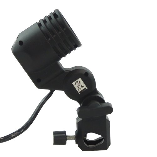 DYNASUN Lampenfassung Lampenhalterung WOF4005 E27 Lampenhalter inkl. Halterung Schirmhalter