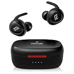 5917c5c92e Firacore Bluetooth 5.0 ワイヤレス イヤホン 充電収納ケース付が特価2,999円!送料無料