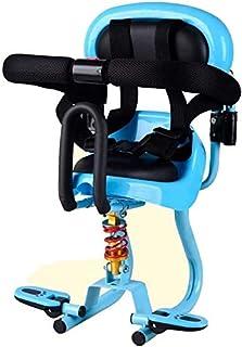 Lanxing Frente montado Asiento de la Bicicleta eléctrica niño Delante del niño del Asiento de Coche del Asiento Amortiguador de la batería de la Motocicleta del Coche de bebé de Seguridad for niños