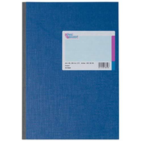 König & Ebhardt 8614272 Geschäftsbuch / Kladde (A4, kariert 70g/m², 96 Blatt Klebebindung)