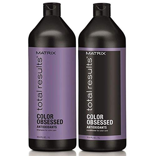 Matrix Total Results Color Obsessed Shampoo (1L) and Conditioner (1L) (2 x 1L)